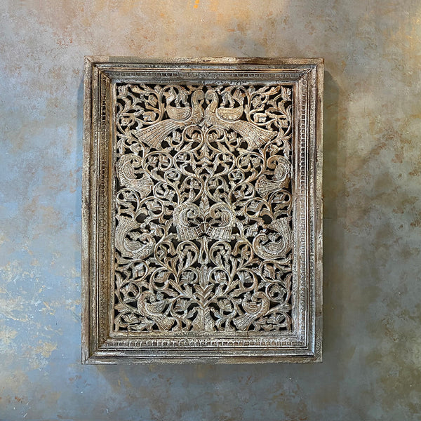 Craved Mughal Panel