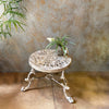 Carved Garden Table Small