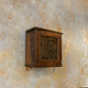 Antique Mini Wooden Showcase