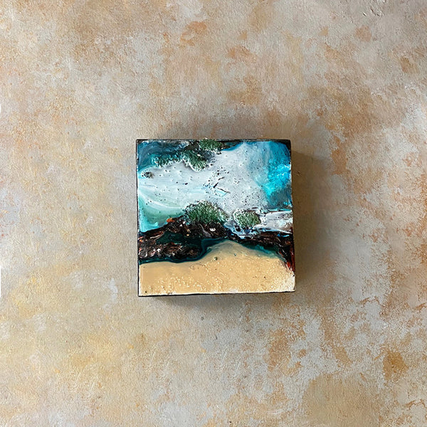Ocean Resin Wall Art