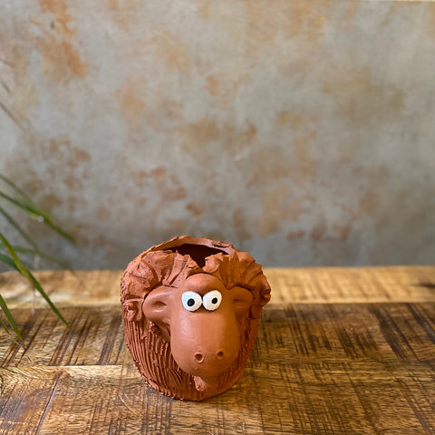 Terracota Mini Sheep Planter
