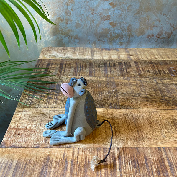 Garden Décor Ceramic Monkey