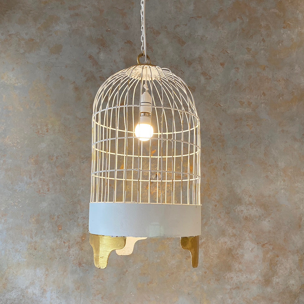 Bird Cage Hanging Lamp