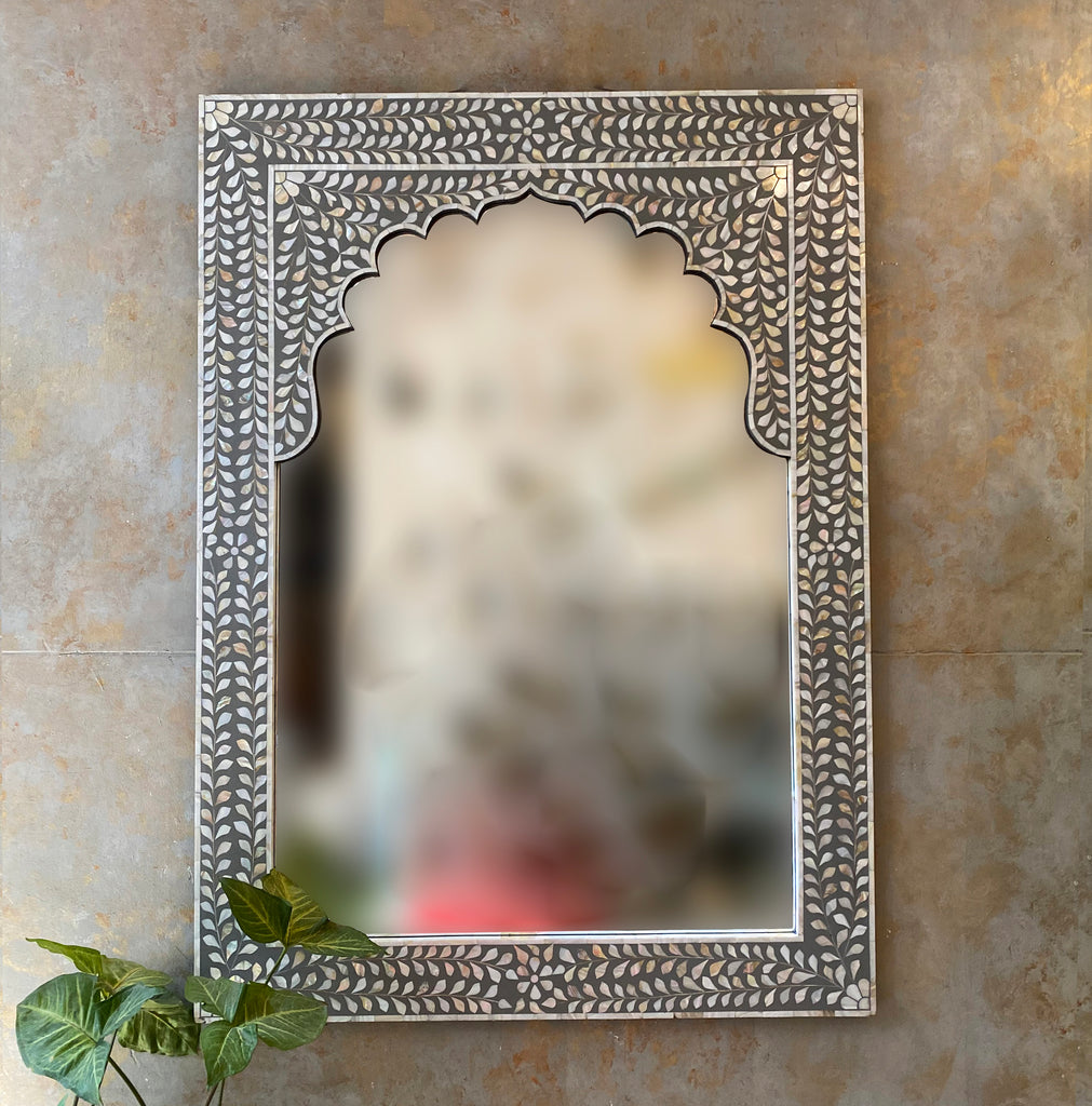 Verdure Bone Inlay Mirror