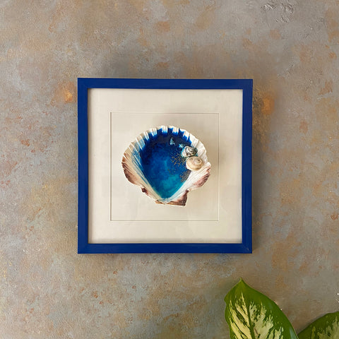 Shell & Resin Wall Art