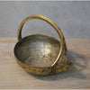 Antique Brass Pot Large