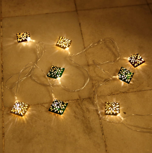 Barfi Cutwork LED String Lights