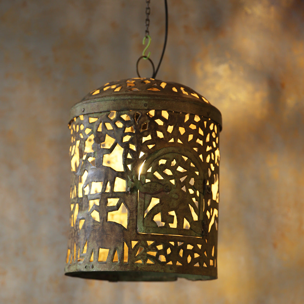 Vintage Cutwork Hanging Lights (Single Piece Price)
