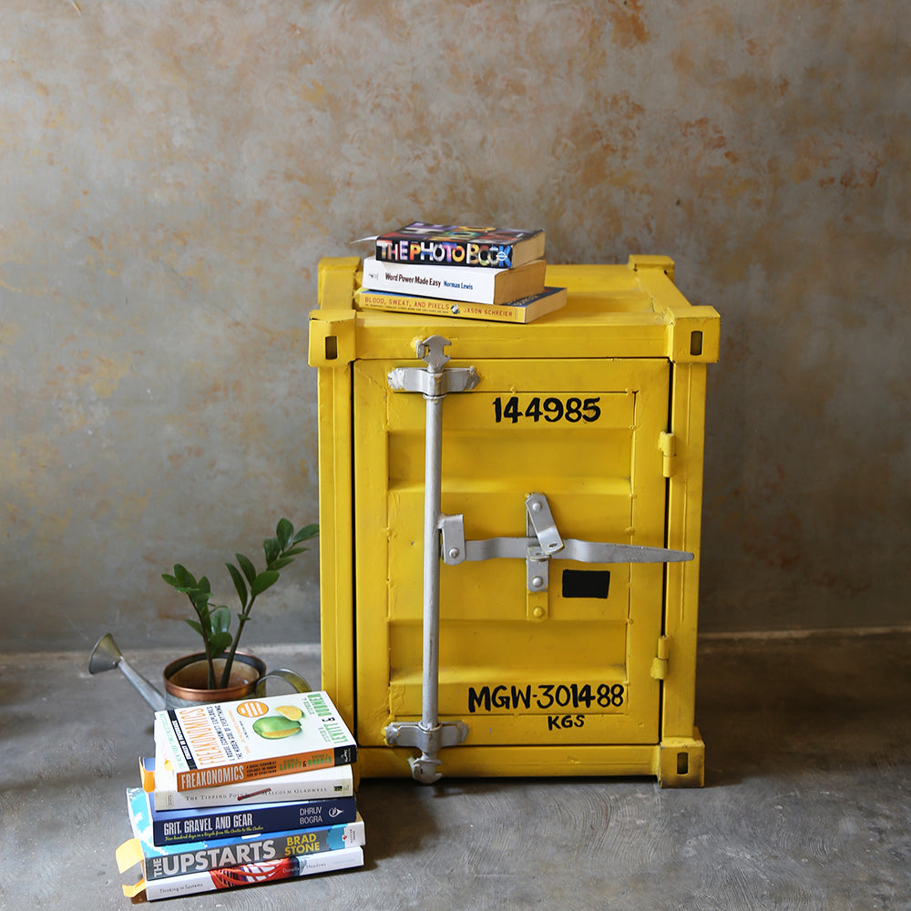 Retro Container Side Table