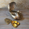 Antique Brass Duck Paan Holder