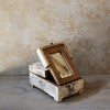 Vintage Barber Mirror Box