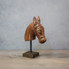 Antique Horse Head on stand