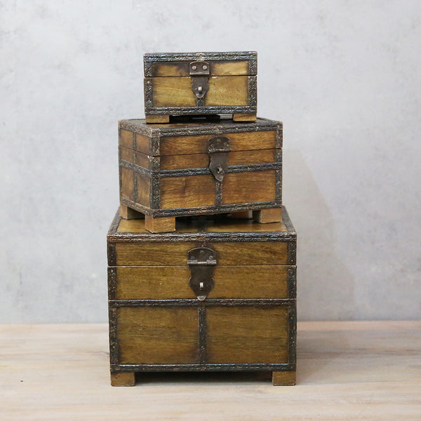 Antique Box (Set of 3)