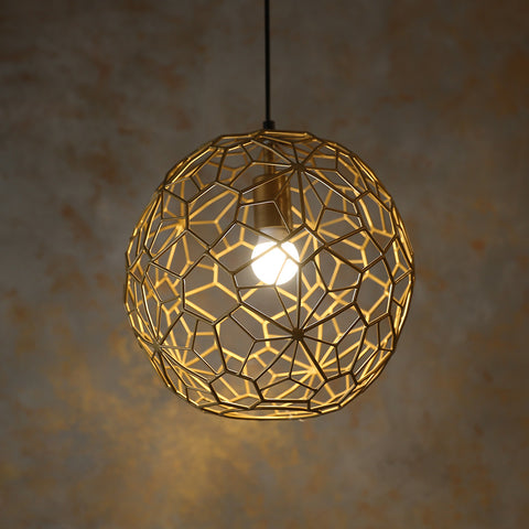 Wire Globe Light