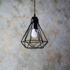 Wire Hanging Light