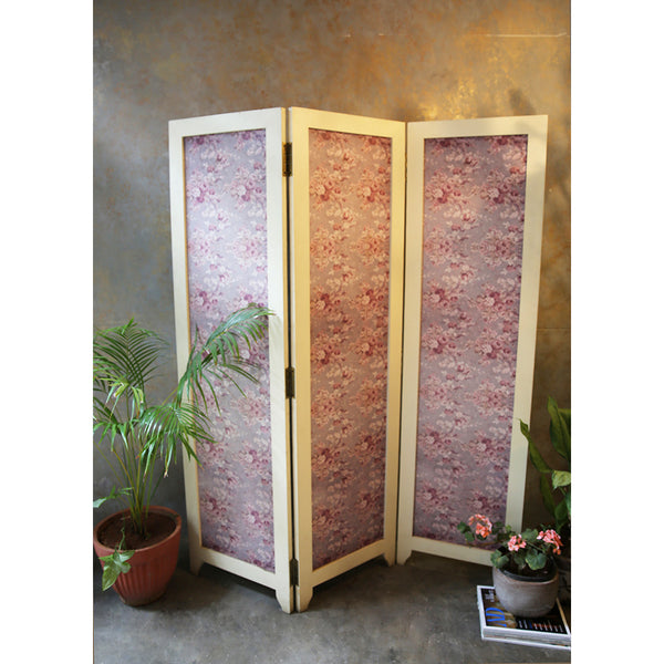 Floral Wooden Partition/Screen