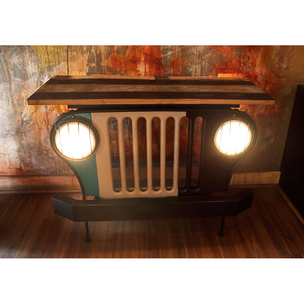 Jeep Console Table