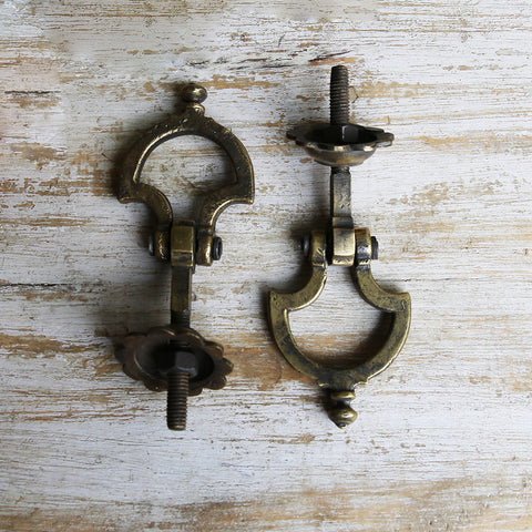 Antique Brass Door Knockers (Set of 2)