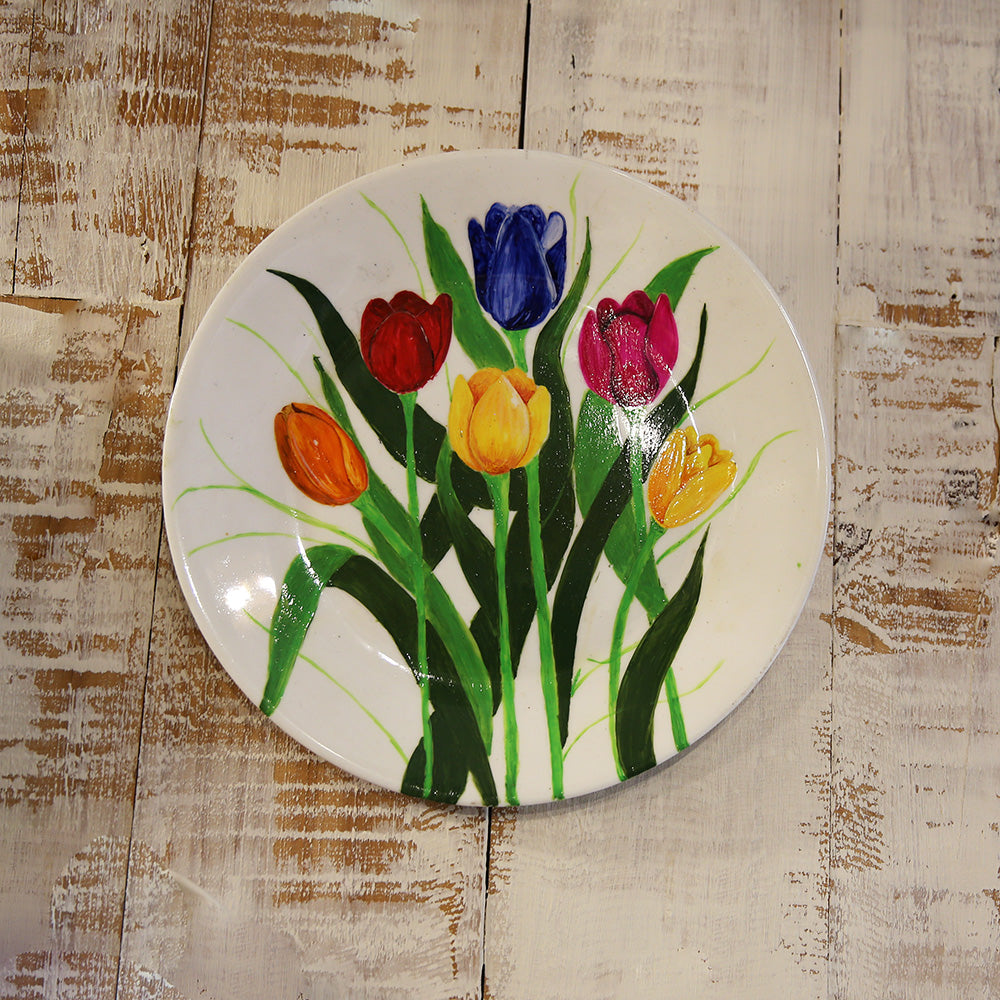 Painted Wall Plate