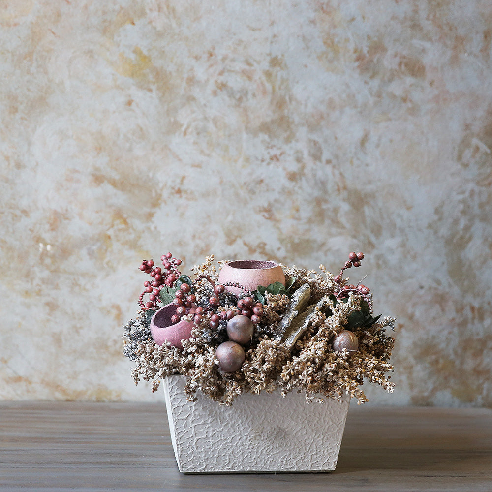 Vintage Dried Flower Decor