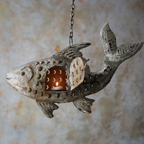 Fish Hanging T-light