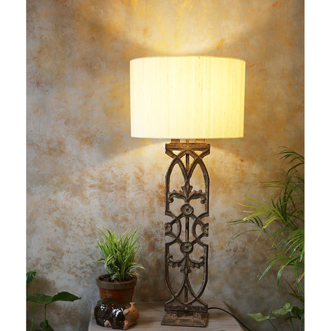 Antique Grill Table Lamp