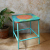Painted Table/Stool