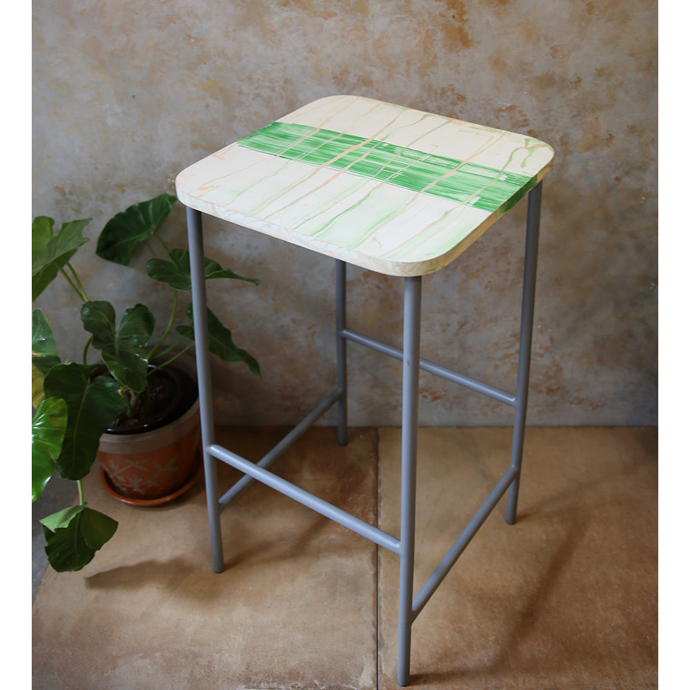 Painted Bar Stool/Table
