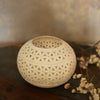 White Cutwork Bowl T-light