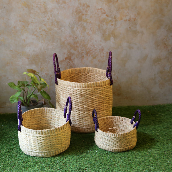 Multi-purpose Baskets(Set of 3)