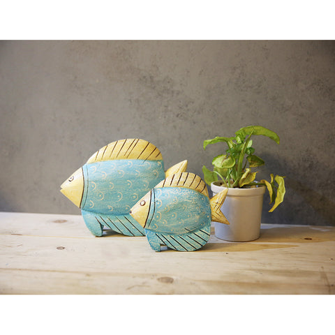Set of Wooden Fish (Set of 2)