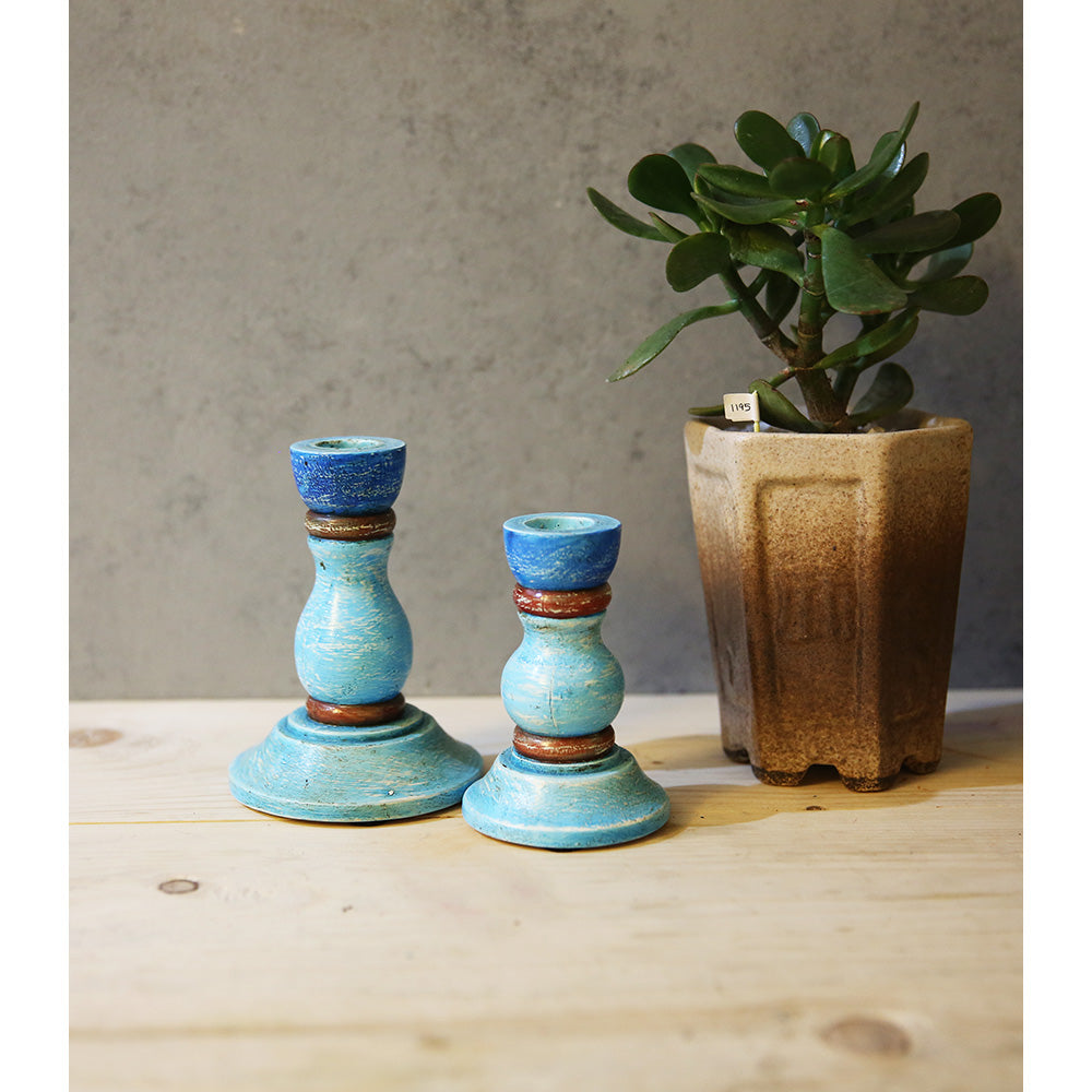 Mini Candle stand (Set of 2)
