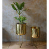 Pure Brass Planter with stand -Large