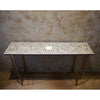 Slim Bone Inlay Console Table