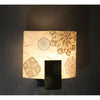 Crochet, Acrylic & Wood Wall Light