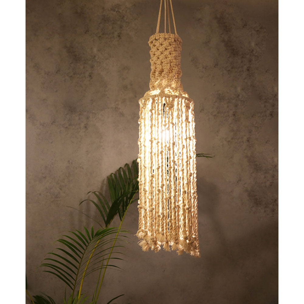 Macrame Hanging light