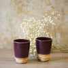 Purple Tumblers (Set of 2)
