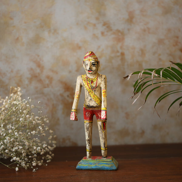 Antique Painted Man