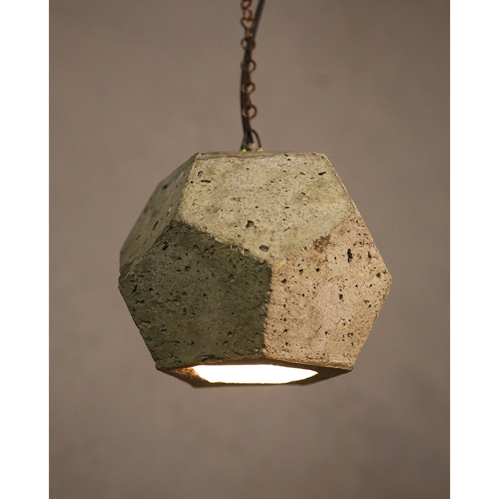 Cement Hanging Light