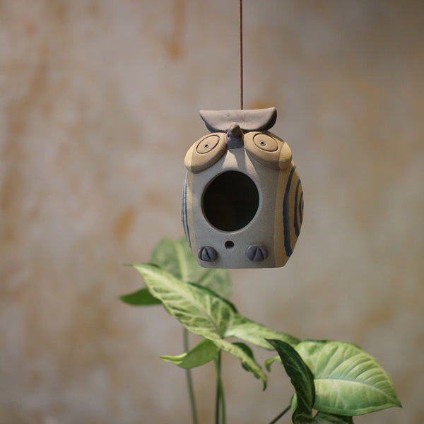 Owl Hanging Planter