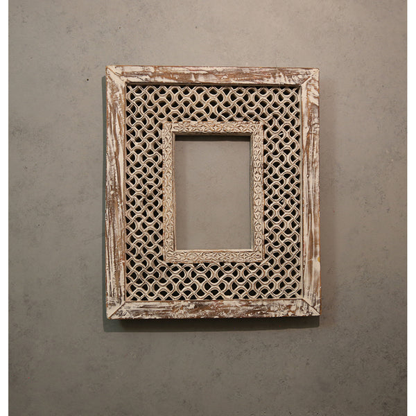 Wooden Carved Jaali Frame
