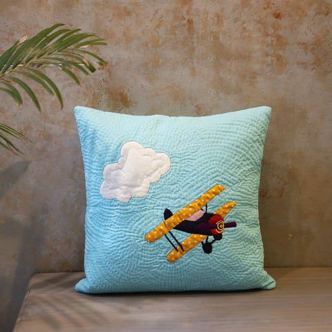 Airplane Cushion Cover