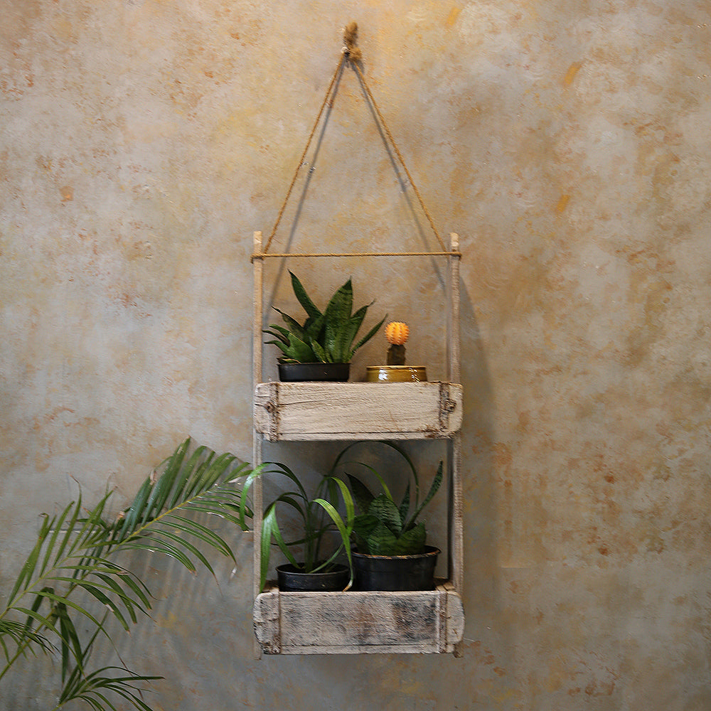 Wooden Rustic Planter