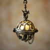 Antique Brass Hanging T-Light