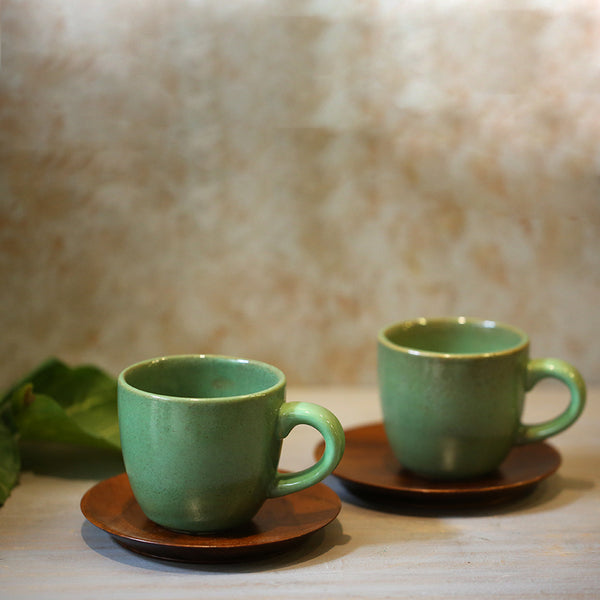 Ivy Tea Cups (Set of 2)