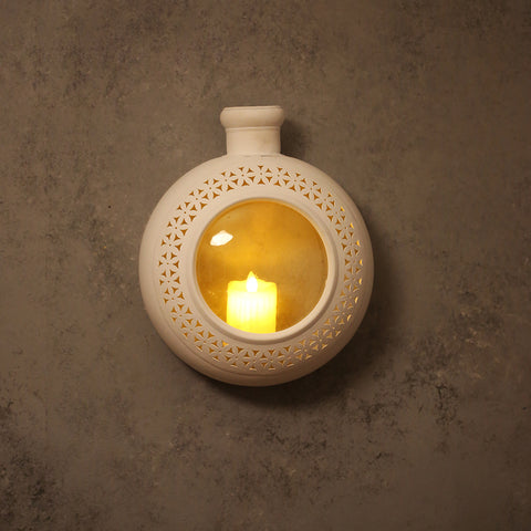 Wall Mounted Lantern T-light