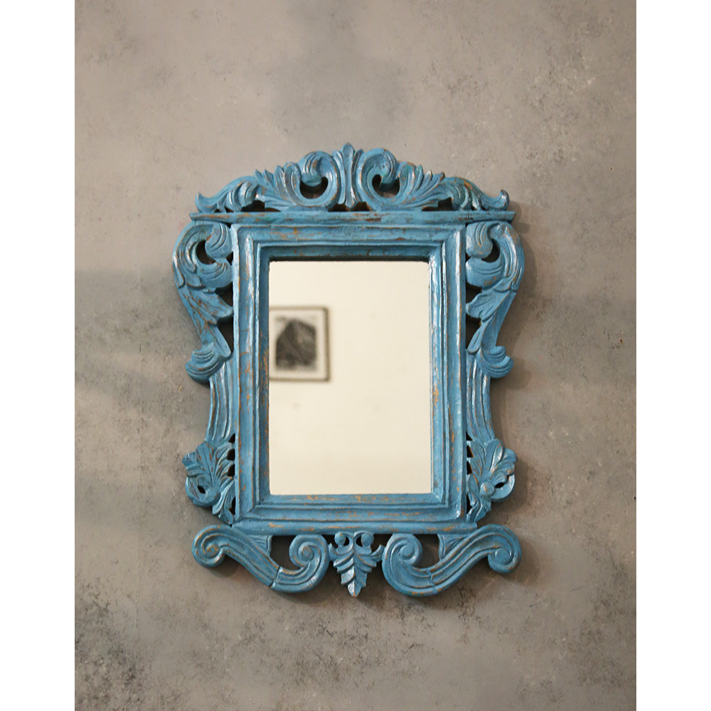 Carved Wooden Mirror Frame