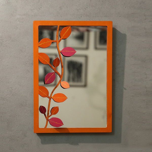 Hand Painted Mirror Frame