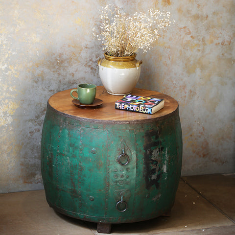 Vintage Container Coffee Table
