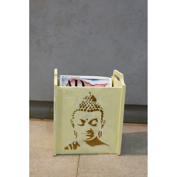 Buddha Magazine Holder